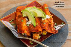 Black Bean Sweet Potato Enchiladas   Life Currents  http://lifecurrents.dw2.net