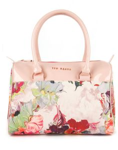 Ted Baker Multicolor Sotrea Treasured Orchid Print Bowler