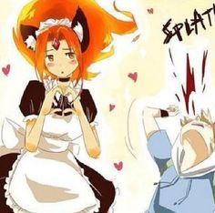 anime Flame Princess Finn