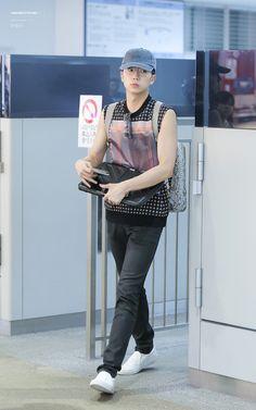 wooyoung ♥ :: 160801 FUK 출국 & ICN 입국