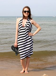 8 quick and easy swimwear cover ups