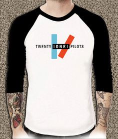 Twenty One Pilots Shirt Unisex Adults Popular Tshirt Any Size TOP01 - T-Shirts & Tank Tops