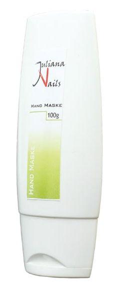 Hand Maske - Juliana Nails  Intensivpflege der neuesten Generation mit Vitamin E, Johanniskrautöl und Extrakt vom Grünen Tee.