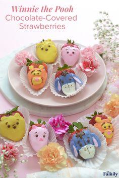 Disney Desserts, Cute Desserts, Disney Recipes, Disney Inspired Food, Disney Food, Walt Disney, Disney Family, Family Kids, Strawberry Dip