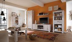 LABIBA Wohnzimmer Möbelserie Vintage Pinie Design
