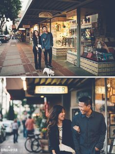 Orange Circle Engagement Session | Urban Engagement Photography | Lifestyle Session | www.GinaAndRyan.com