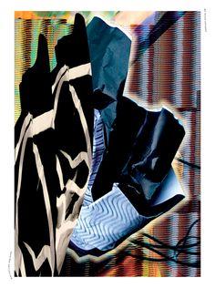 Nina Gottlieb, Nina Pusch  Overnight Design Jam. Die Arbeiten entstanden über Nacht im Rahmen des ersten Design Jams im Krieger des Lichts Headquarter. Das Ergebnis ist ein Designmagazin über Sneaker-Kultur ►  Jahr: 2013, Tags: Print, Sneakerness, Design Jam, Sneaker, Messe.