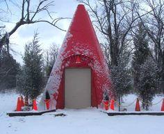 Traffic Cone Building    Location: Whites Creek - 6486 Old Hickory Blvd (SSR 45)  Davidson Co - TN