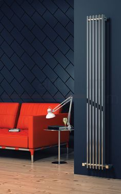 Reina Veneso Slatted Vertical Radiator High x Wide Vertical Radiators, Modern Radiators, Bathroom Radiators, Towel Radiator, Designer Radiator, Heated Towel Rail, Extruded Aluminum, Aluminum Radiator, Radiant Heat