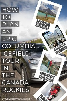 Few other places in Canada can match the Columbia Icefield in terms of sheer beauty, because this is one of the top destinations in the country. You can marvel in awe at the scenery, learn about the geological history of the Columbia Icefield at the interpretation center, enjoy off-road rides across the glaciers and incredible vistas from the daunting Skywalk. It's an adventure not to be missed, so to inspire your next journey, here's our #guide to visiting the #ColumbiaIcefield #Canada #Travel Travel Tips, Travel Advise, Travel Guides, Vacation Spots, Vacation Ideas, Sheer Beauty, Top Destinations, Banff National Park, Ultimate Travel