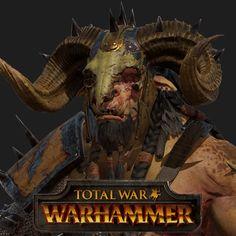 Total War: Warhammer: Art Dump, In game characters and Zbrush models, Baj Singh on ArtStation at https://www.artstation.com/artwork/wvQVO