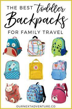 24cd16469ed7dd Best Toddler Backpacks for Family Travel