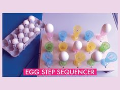 I love this: Egg Step Sequencer  by @pattvira