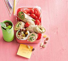Hollandse wraps met munt-ijsthee en studentenhaver - Recept - Jumbo Supermarkten
