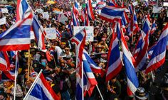 Thai demonstrators say they will step up protest to hound PM from office - Greetlane Social