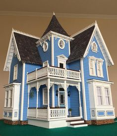 My Fairfield Dollhouse, inspired by American gothic revival architecture