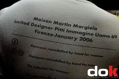 MARTIN MARGIELA  www.dok.bo.it