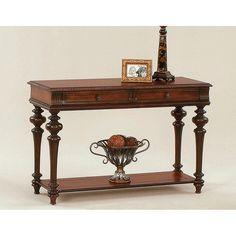 Progressive Furniture Sofa Table - Heritage Cherry - P587-05
