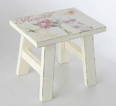 perfect little stepping stool for girls to climb into their Nana bed.