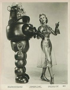 Vintage Classic Beautiful Women   Girls and Vintage Robots !   Ufunk.net