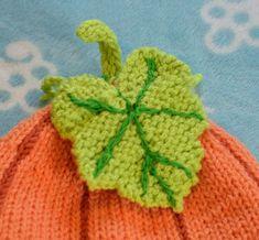 Pumpkin Hat, Cute Pumpkin, Baby In Pumpkin, Halloween Knitting Patterns, Baby Knitting Patterns, Knitting Stitches, Crochet Hook Sizes, Crochet Hooks, Knitting For Kids