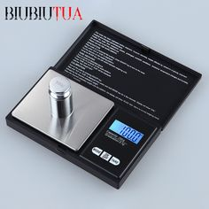 BIUBIUTUA 500g x 0.01g Digital Precision Scales For Gold Bijoux Jewelry Scale 0.01 Pocket Balance Electronic Scales prepared meals ** AliExpress Affiliate's buyable pin. Details on product can be viewed on www.aliexpress.com by clicking the VISIT button