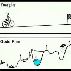God certainly has a sense of humor...