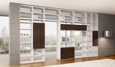Trova i migliori progetti dei nostri esperti per la tua casa.Libreria componibile in nobilitato mod. Systema di soloLibrerie | homify