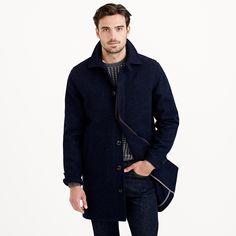 J.Crew wool car coat