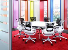 Bright Office, Ergonomic Chair, Ottoman, Comfy, Offices, Interior, Skate, Milan, Environment