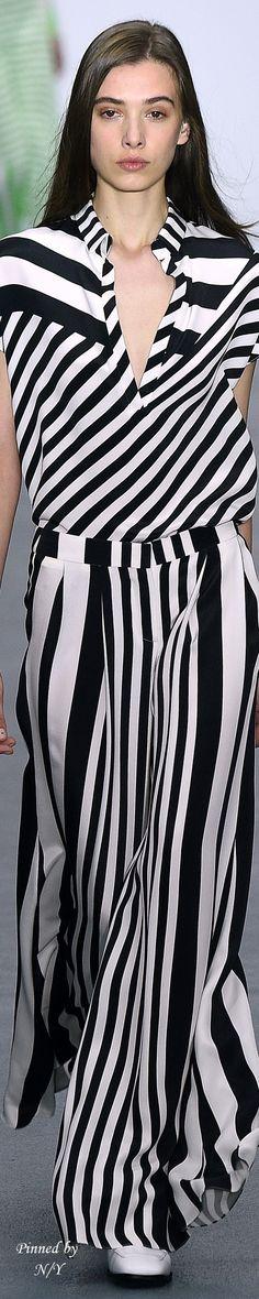 Rosamaria G Frangini | High Casual Fashion | Rosamaria G Frangini | Stripes | J.JS LEE - Spring 2016 RTW