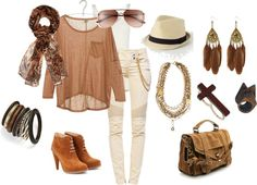 Out in the City, created by ray0720 on Polyvore