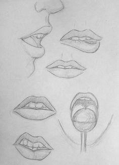 Sketchbook 49 Lips practice by lipsdibujo Sketchbook 49 Lips practice by # Art Drawings Sketches Simple, Pencil Art Drawings, Realistic Drawings, Drawing Lips, Drawings Of Lips, Drawing Drawing, Figure Drawing, Lips Sketch, Face Sketch