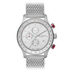 LW33 - Rustfrit stål tachymeter   #Larsenwatches #watch #danish #design