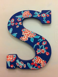 Samantha Elisabeth: Sorority Stuff: How to Paint a Lilly Print