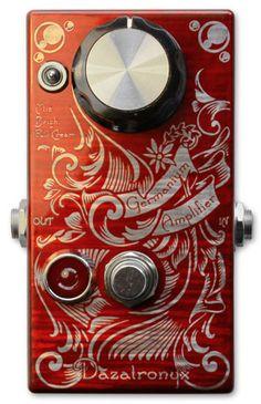 Dazatronyx Germanium Amplifier Prs Guitar, Guitar Rig, Cool Guitar, Guitar Effects Pedals, Guitar Pedals, Diy Guitar Pedal, Guitar Accessories, Beautiful Guitars, Pedalboard