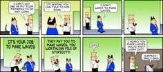 Dilbert comic strip for 01/06/2013 from the official Dilbert comic strips archive.