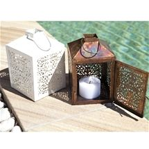 Fair Trade Tin Lanterns
