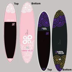 Love the designs of these SUP