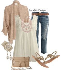 "Outfits From Polyvore | Spring outfits / ""Casual Spring"" by amabiledesigns on Polyvore"