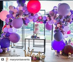 "31 Likes, 2 Comments - Natalie Russo (@foamtasticpartydecor) on Instagram: ""#Repost @maryronisevents with @repostapp Another amazing setup Mary! Name by us!…"""