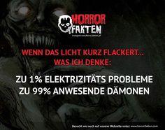 ❝Wem ergeht es auch so?❞ #horrorfakten