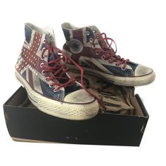 CONVERSE ALL STAR - SCARPE CONVERSE ALL STAR LIMITED EDITION UK FLAG