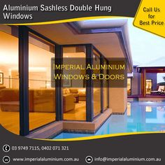 Imperial Aluminium Sashless Double Hung Window