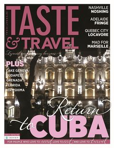 Taste&Travel issue #37 cover