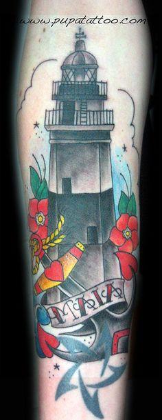 Tatuaje Faro Pupa Tattoo Granada