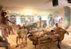 World premiere of David LaChapelle's Photographs Presented by Maybach During Art Basel David Lachapelle, Erwin Olaf, Temple, Expressionist Artists, Maybach, Pop Surrealism, Zeppelin, Fine Art Photography, Fashion Photography