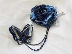 Gallery - Embroidery artist Etsuko NARITA アート刺繍作家 成田悦子|リュネビル刺繍 オートクチュール刺繍教室 Embroidery Jewelry, Embroidery Art