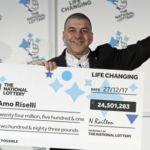 Amo Riselli, il tassista neomilionario alla Lotteria inglese