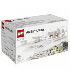 Lego targets architects with  monochrome building set